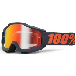 Gafas 100% Accuri Gun metal mirror