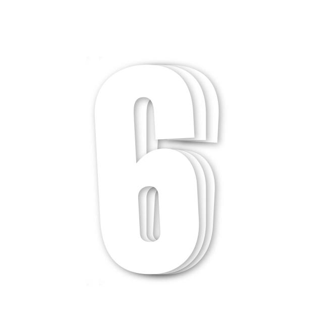 Números de carrera blanco - Pack de 3...