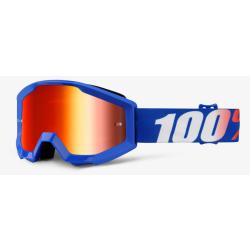 Gafas Infantiles 100% Strata Nation Mirror Red Lens