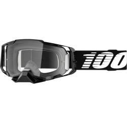 Gafas 100% Armega Black Clear