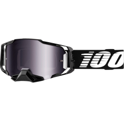 Gafas 100% Armega Black Silver Mirror