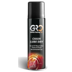 Grasa Spray de Cadenas GRO Chain Lube 500 ml Dry (Base Teflón)