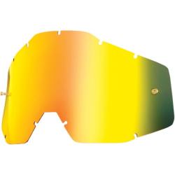 Cristal 100% Racecraft/Accuri/Strata Espejo Oro