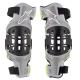 Rodilleras Alpinestars Bionic-7 Gris/Amarillo Flúor