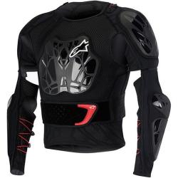 Peto Integral Alpinestars Bionic Tech Negro/Rojo