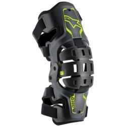 Rodilleras Infantiles Bionic 5S Negro/Antracita/Amarillo Flúor