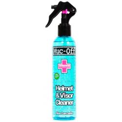 Limpiador antibacteriano de lentes y cascos Muc-Off Helmet & Visor Cleaner Bote 250ml