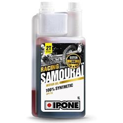 Aceite Ipone Samurai Racing 2T 1 Litro Fresa