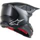 Casco Alpinestars SuperTech S-M10 Solid Negro Mate/Carbono