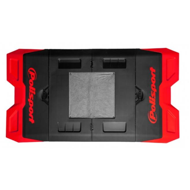 Moto Pad Plegable Polisport Rojo