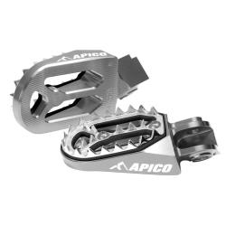 Estriberas Apico Pro-bite Honda CR 125/250 02-07 CRF 250 R/X 02-17 CRF 450 R/X 04-17 Titanio