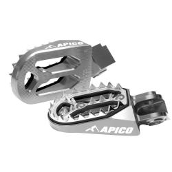 Estriberas Apico Pro-bite KTM EXC 17-18 EXC-F 17-19 SX/SX-F 16-19 Husqvarna TE/FE 17-19 TC/FC 16-19 Titanio