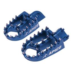 Estriberas Apico Xtreme KTM EXC/EXC-F 17-... SX/SX-F 16-... Husqvarna TE/FE 17-… TC/FC 16-... Azul