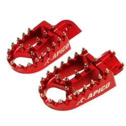 Estriberas Apico Xtreme Suzuki RMZ 250/450 10-19 Rojo