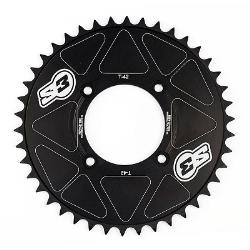 Corona de Aluminio S3 Trial ( Modelos de Trial Modernos ) Negro