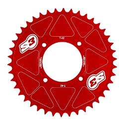 Corona de Aluminio S3 Trial ( Modelos de Trial Modernos ) Rojo