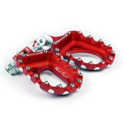 Estriberas de Aluminio S3 Hard Rock Rojo