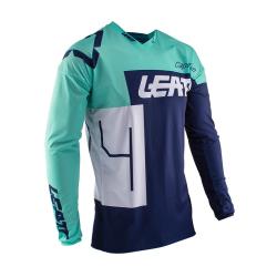 Jersey Leatt GPX 4.5 Lite Aqua