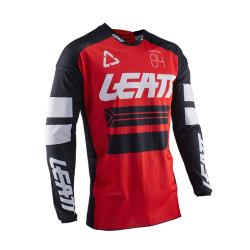Jersey Leatt GPX 4.5 X-Flow Rojo Ventilado