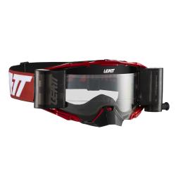 Gafas Leatt Velocity 6.5 Rojo/Blanco Roll-Off