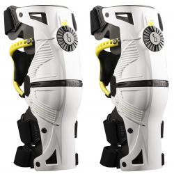 Rodilleras Ortopédicas Mobius X8 Blanco/Flúor