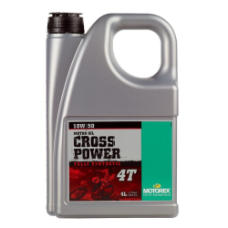 Aceite Motorex Cross Power 4T 10W/50 4 Litros