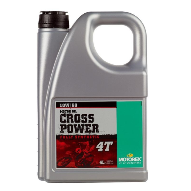 Aceite Motorex Cross Power 4T 10W/60...