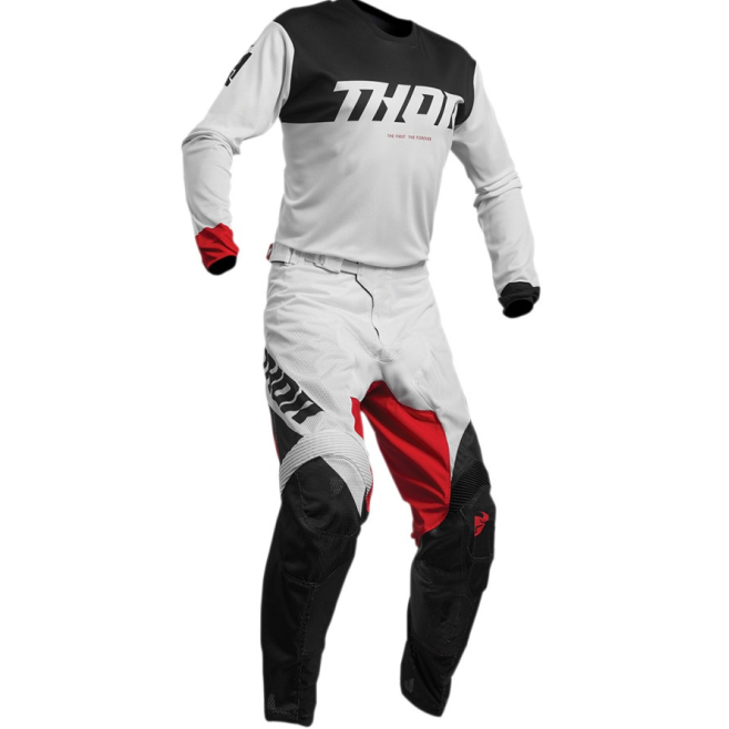 Set Thor S20 Pulse Air Blanco/Rojo