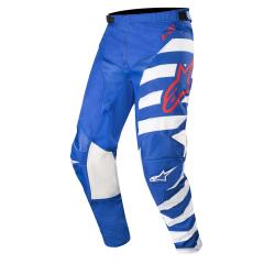 Pantalón Alpinestars Racer Braap 2019 Azul/Blanco/Rojo
