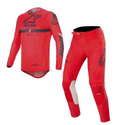 Set Alpinestars Supertech 2020 Rojo/Azul Oscuro/Blanco