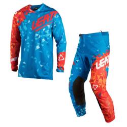 Set Leatt GPX 4.5 Lite Azul/Rojo