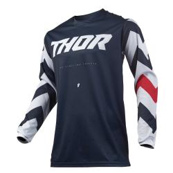 Jersey Thor S9 Pulse Stunner Azul Oscuro/Blanco
