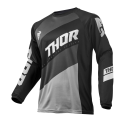 Jersey Thor S9 Sector Shear Negro/Gris
