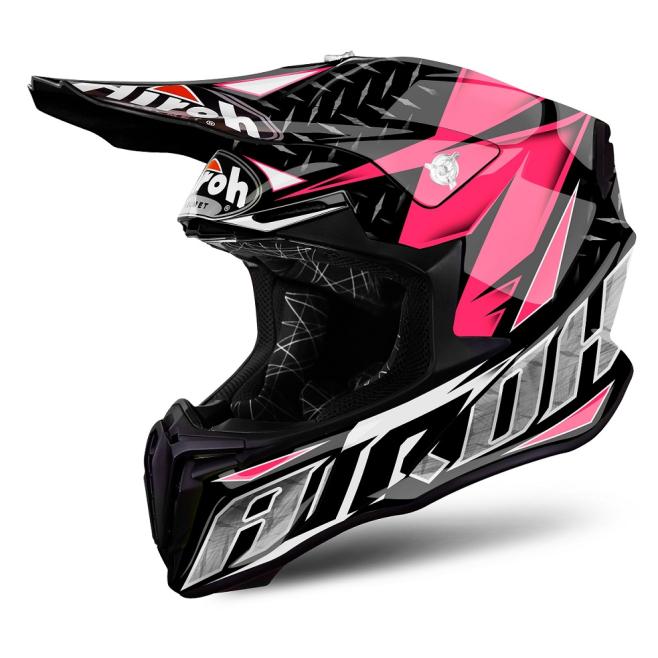 Casco Airoh Twist Iron Pink Gloss