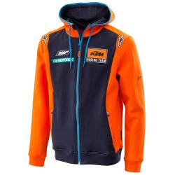 Sudadera KTM Infantil Réplica Team Zip Hoodie