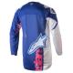 Jersey Infantil Alpinestars Racer Venom 2018 Azul/Rosa Flúor/Blanco