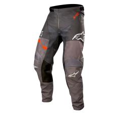 Pantalón Alpinestars Racer Flagship 2019 Gris Oscuro/Antracita/Naranja Flúor